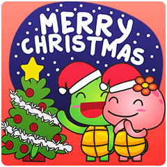 Pura and Pika - Merry Christmas!