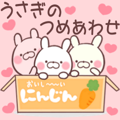 ❤️❤️うさぎのつめあわせ 冬❤️❤️