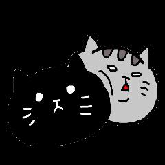 ネコの吹きだしスタンプ★
