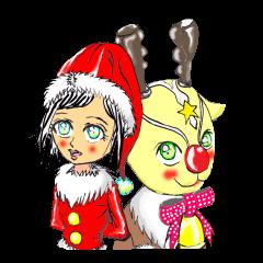 クリスマス,サンタ一家