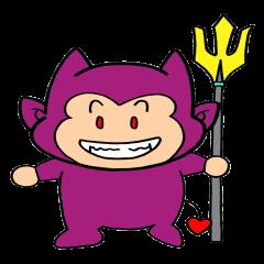 [LINEスタンプ] 子悪魔デル (1)