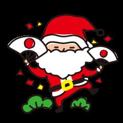 クリスマス&お正月だよダブルスタンプ