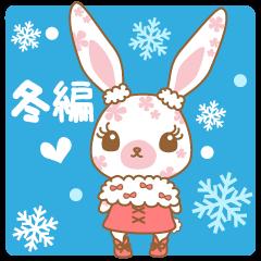 Flower Bunny 冬バージョン!