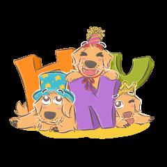 Dodimon: Golden Retriever Celebration