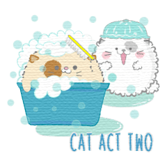 Cat act two V.1 (Japanese)