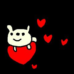 英語の愛くま English LOVE Bear