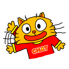 [LINEスタンプ] こなれた英語でトーク!TBS英語番組CatChat