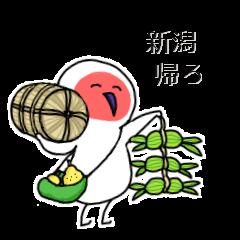 トキの里帰り~冬編~