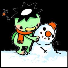 河童巻合戦絵巻3~冬~