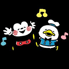 カナヘイ画♪ミッキー&フレンズ