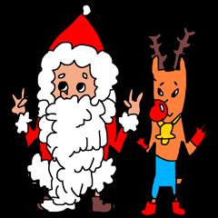 クリスマスタンプ