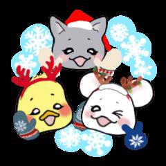 3匹のクリスマス~バレンタイン