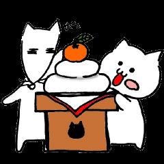 ねこときどききつね(冬編)
