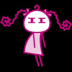 ピンクの女の子2
