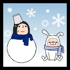 タイツマン 冬の日常