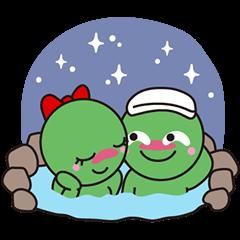 [LINEスタンプ] まりもっこり~冬の特別編~