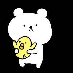 クマのらくがき