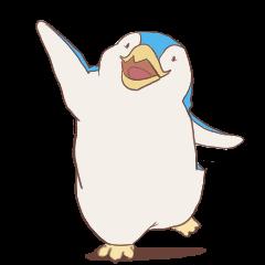 『ジャック ザ ペンギン』スタンプ