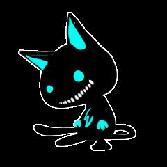 Shadow cat light up!