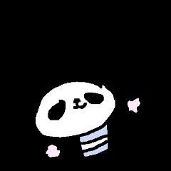 合格祈願!応援パンダ! Good Luck Panda