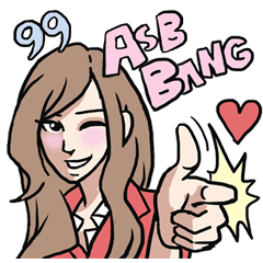 AsB - Love 99 / The Comic Cupple