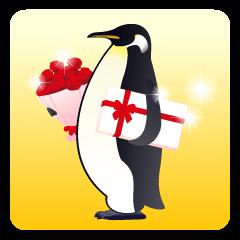 ゆるい皇帝ペンギン