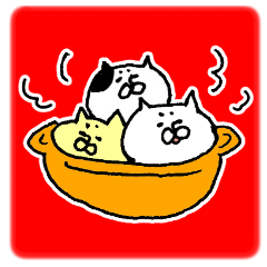 [LINEスタンプ] 無言のネコ 2の画像(メイン)