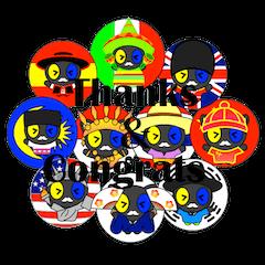 ありがとう&おめでとう(10カ国対応)