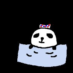 パンダの気持ち漢字1文字 panda kanji