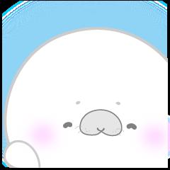 [LINEスタンプ] おはよう!ぼく、あざらし Part 1 (1)