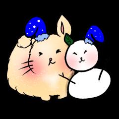 ミニウサギの日常 冬編