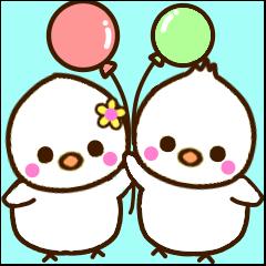 ヒナちゃん&ムクちゃん
