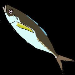 アジング(ルアー釣り)フリークのスタンプ