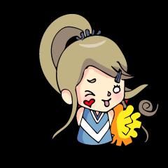 関西弁チアガール