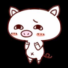 [LINEスタンプ] かわいい豚のぶた丸ちゃんの画像(メイン)