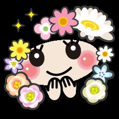 花咲く顔文字