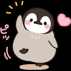 ほのぼの子ペンギン