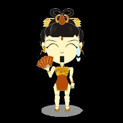 ロボットと蝶 繁体字中国語テキストは 4.0