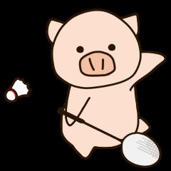 バドミン豚