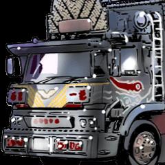 車(トラック日常2)クルマバイクシリーズ