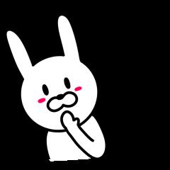 伊藤さんに使えるウサギ