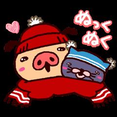 冬パンツ♪踊れパンパカパンツ