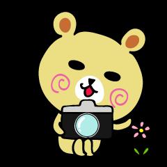 くまごろう with カメラ