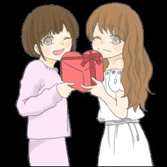 ツンデレゆにろあの毎日【バレンタイン編】