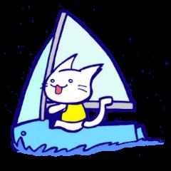 ねことヨット