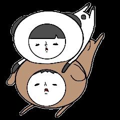 ぽちぼのスタンプ