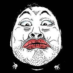 ひげを生やした男キス - 国際版