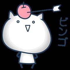 お口の悪い白猫(Ver.C)