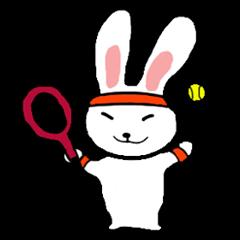 テニス うさぎぴょん