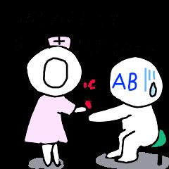 血液型あるあるスタンプ2